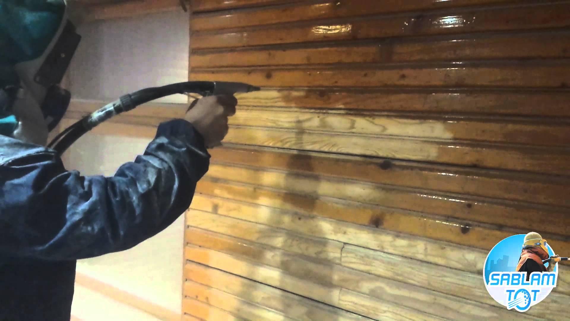 sablare lemn